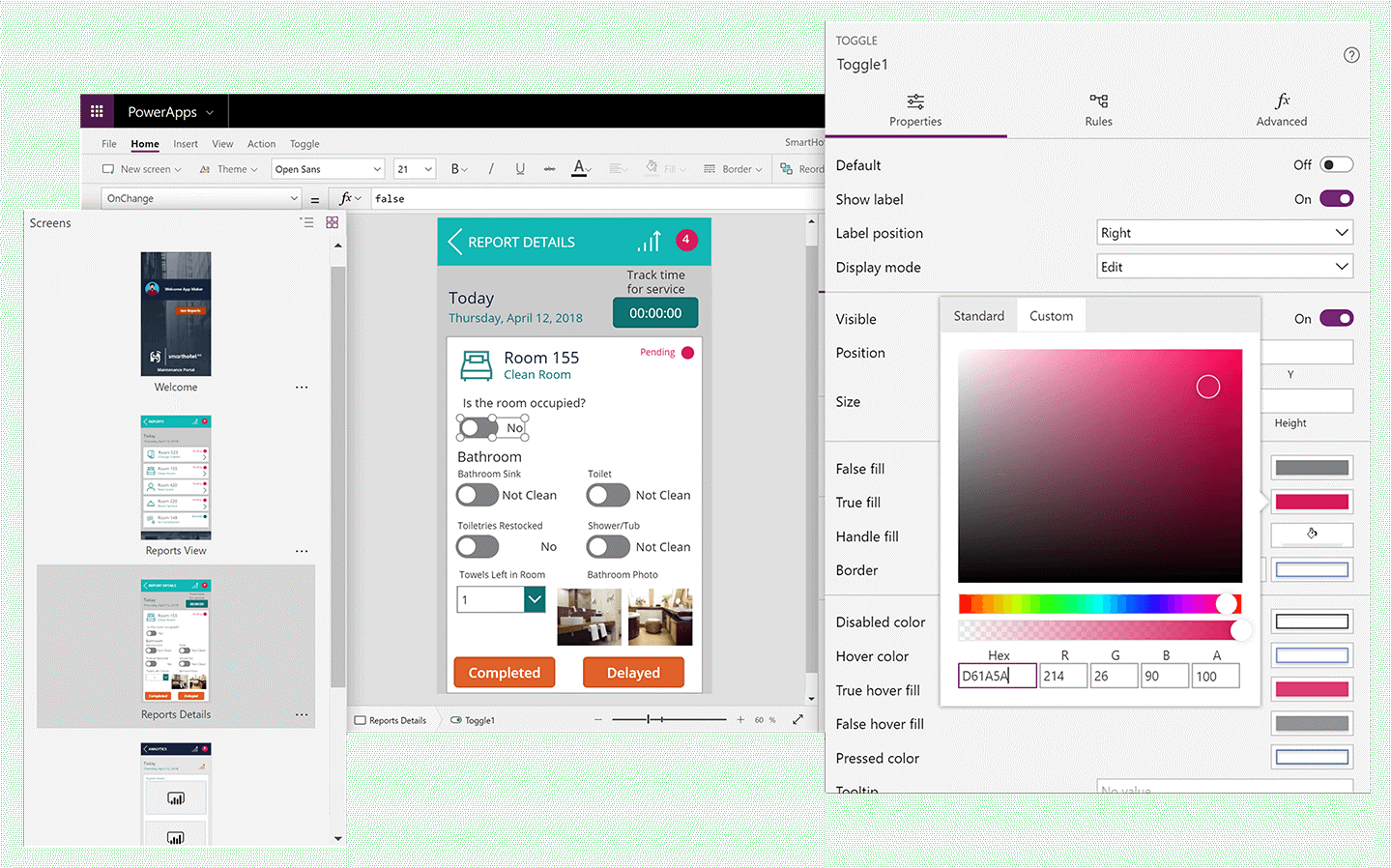 powerapps canvas apps